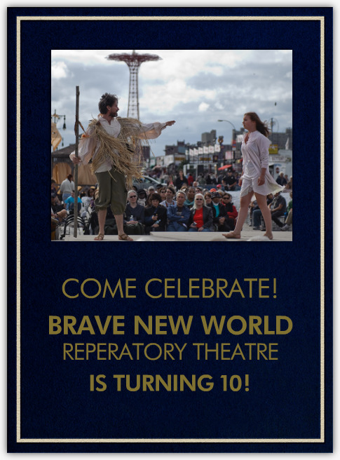 Enable images to view Brave New World Repertory Gala Invitation